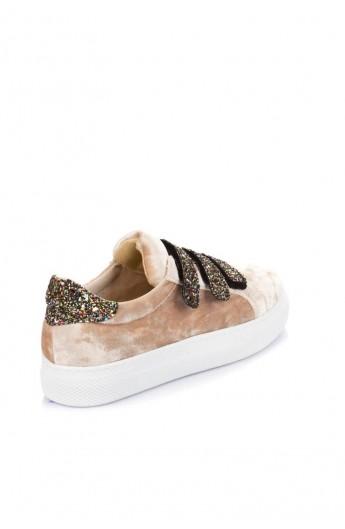 کفش مدلدار جیر زنانه