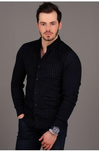 پیراهن مخمل مدلدار مردانه