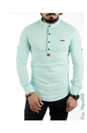پیراهن چهاردکمه ای مردانه