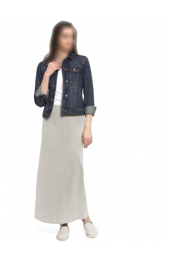 دامن راسته بلند زنانه