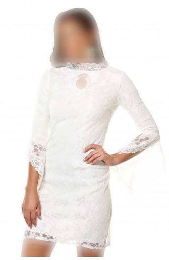 پیراهن گیپور زنانه