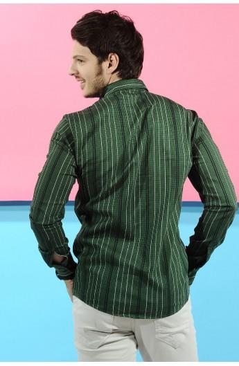 پیراهن خط دار مردانه