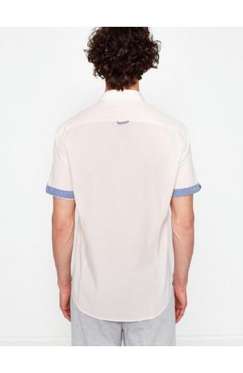 پیراهن اسپرت جیب دار مردانه