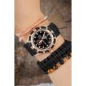 ست ساعت دستبند سنگی مردانه