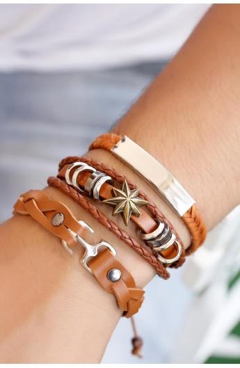 ست دستبند مردانه