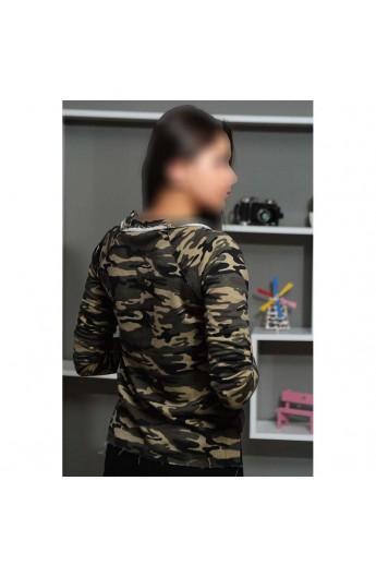 شومیز ارتشی زنانه