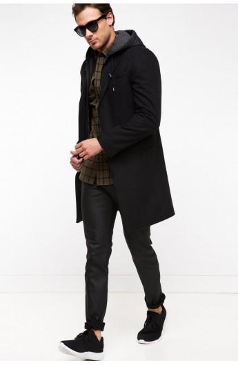 پالتوی کلاه دار مردانه