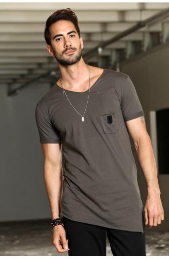 تیشرت یقه مدل دار مردانه
