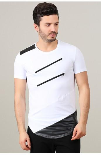 لباس مردانه جدید تیشرت یقه گرد مردانه