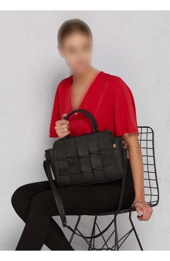ست کیف وکفش چسبی زنانه