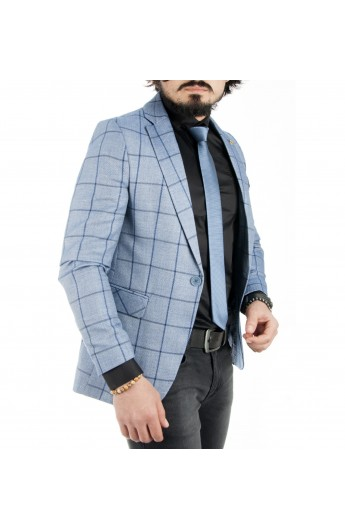 کت چهارخانه مردانه