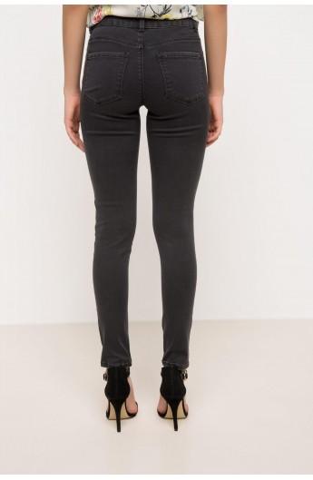 شلوار جیب دار جین زنانه