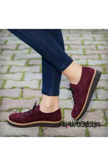 کفش مخمل زنانه