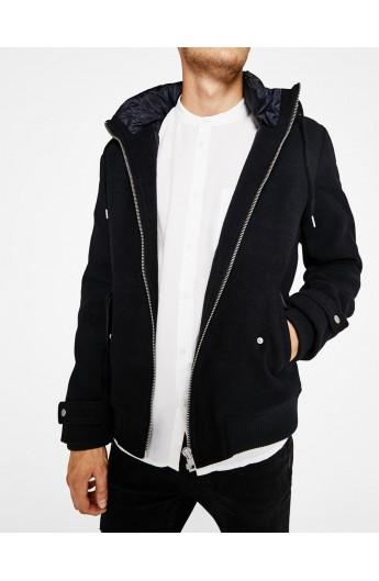 ژاکت کلاه دار مردانه