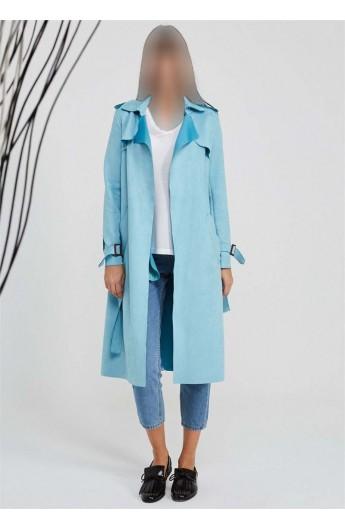 بارانی یقه مدل دار زنانه