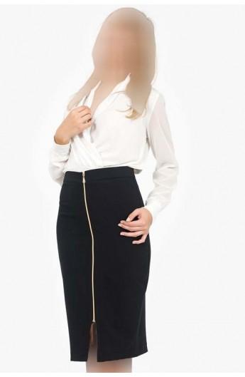 دامن زیپ دار زنانه