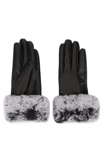 دستکش خز زنانه
