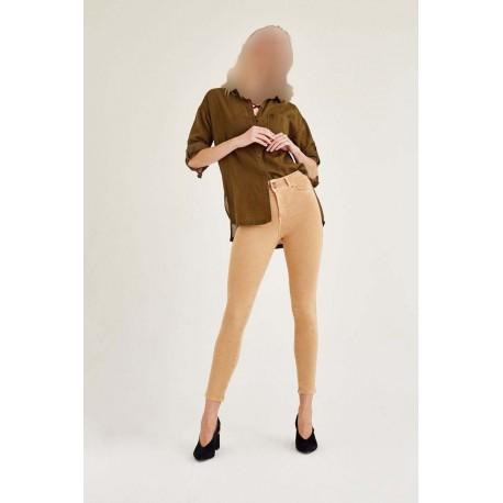 شلوار جیب دار زنانه