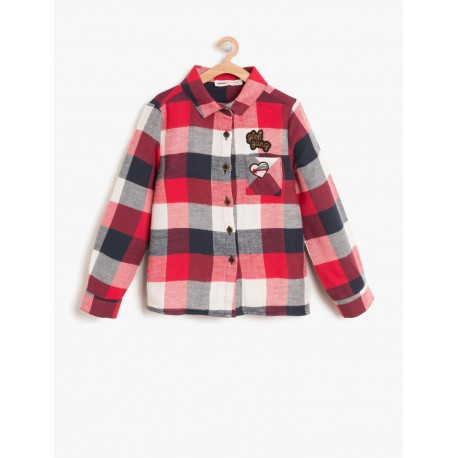 پیراهن چهارخانه دخترانه