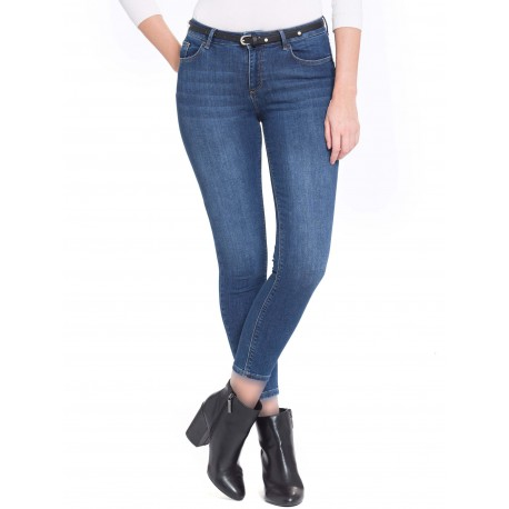 شلوار جین کمربنددار زنانه
