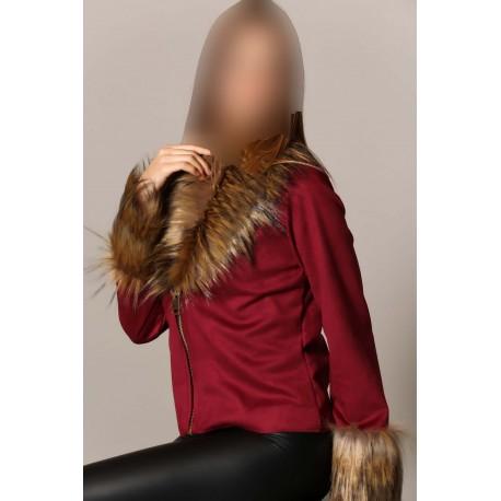 کت زیپ دار زنانه