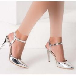 کفش پاشنه بلند سیلور