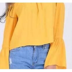 بلوز زرد مدلدلر زنانه