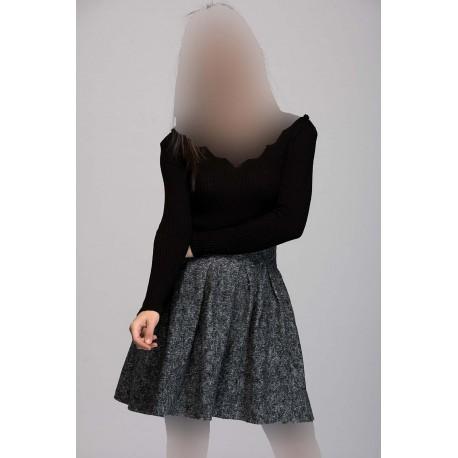 دامن کتان زنانه