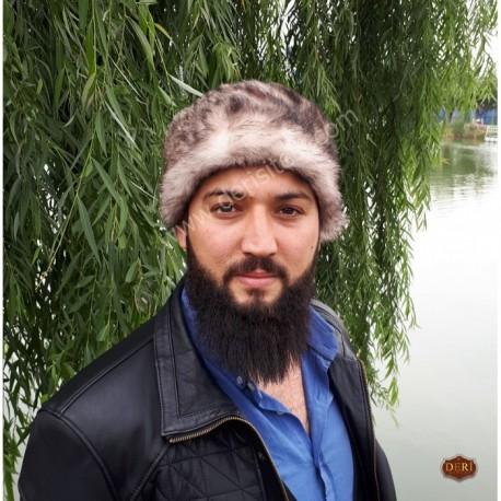 کلاه خز و چرم مردانه
