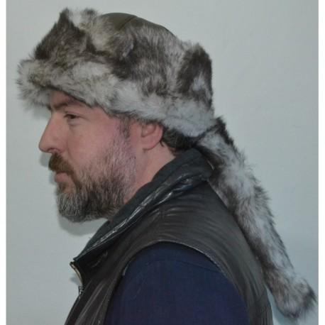 کلاه مدل دار چرم مردانه