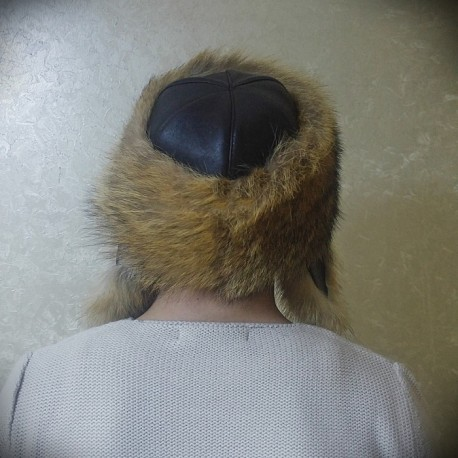 کلاه چرم طرحدار مردانه