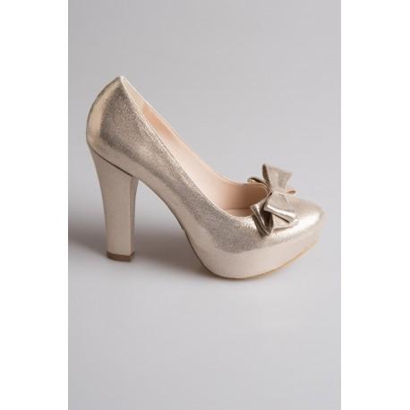 کفش پاپیون دار عروس